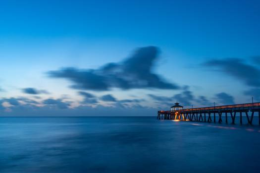 Sea Ocean Sunset Free Photo