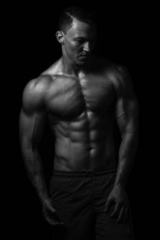 Bodybuilder Muscular Body Free Photo