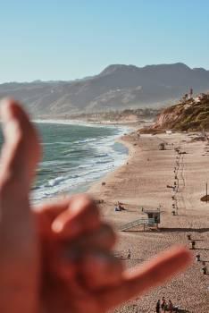 Beach Sand Ocean #419823