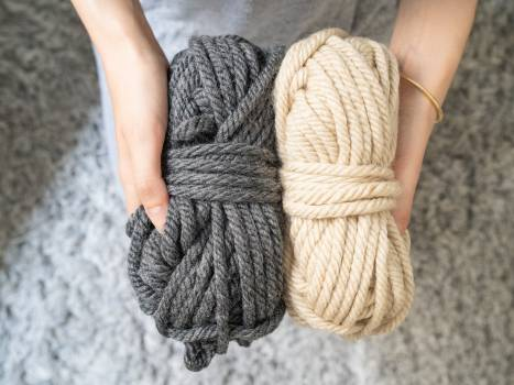 Wool Fabric Mitten Free Photo