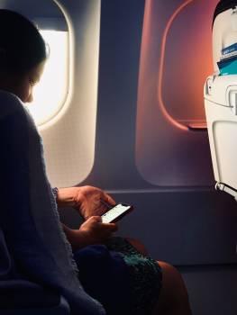 Plane seat Seat Computer Free Photo