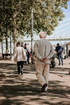 Man Walking People Free Photo