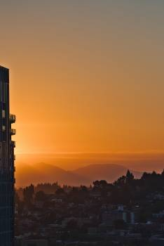 Sky Sunset Tower #419879