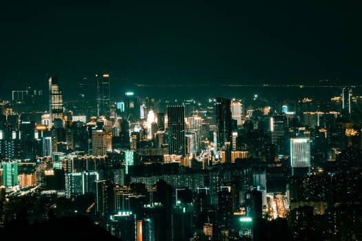 Business district City Skyline #419930