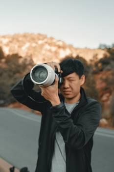 Photographer Lens Camera Free Photo