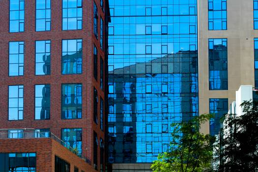 Glass Building in City Free Photo Free Photo