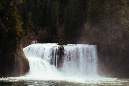 Dam Barrier Waterfall #420268