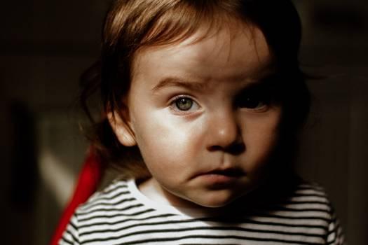 Child Face Portrait Free Photo