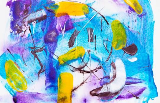 Acrylic Art Pattern Free Photo