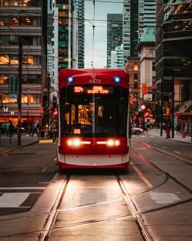 Tramway Conveyance Wheeled vehicle #420356