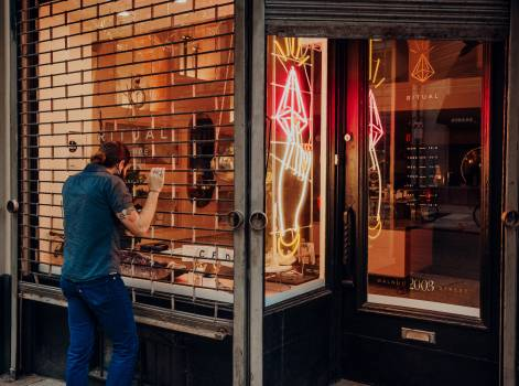 Shop Mercantile establishment Building Free Photo