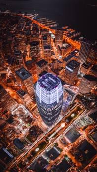 Skyscraper Business district City Free Photo