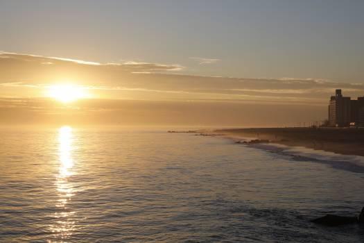 Sunset over Beach Free Photo #420668