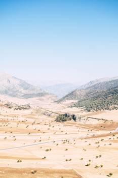 Highland Mountain Landscape Free Photo