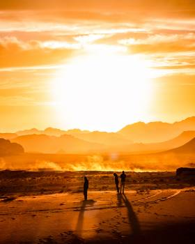 Sun Star Sunset Free Photo