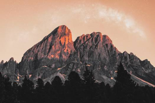 Mountain Volcano Range Free Photo