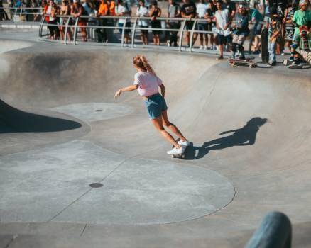 Skateboard Sport Wheeled vehicle Free Photo