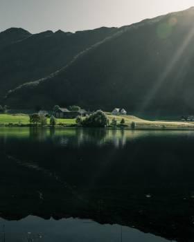 Lake Sky Landscape #421003
