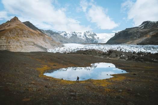 Glacier Mountain Mountains Free Photo