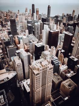 Skyscraper City Skyline #421028