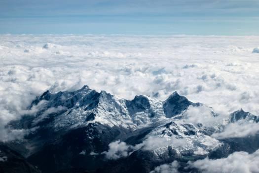 Glacier Snow Mountain Free Photo