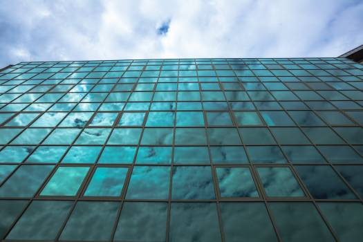 Low angle view of skyscraper #421067