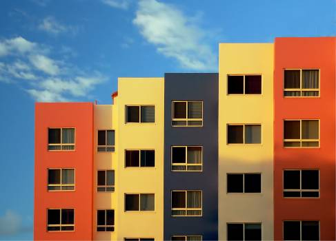 Colorful Buildings Free Photo #421170