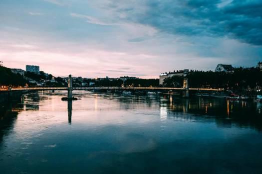 Gateway Bridge In Lyon #421269