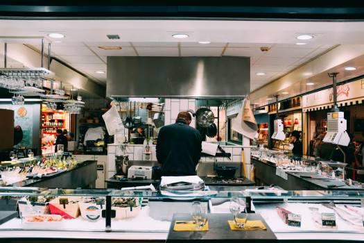 Open-kitchen Restaurant #421274