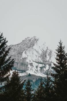 Mountain Melts Into Sky #421287