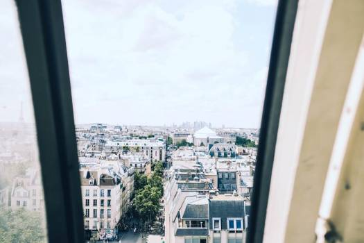 Paris Rooftops And Tree-Lined Boulevards #421309