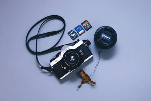 Black and Gray Camera Free Photo