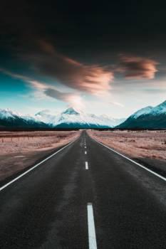Asphalt Road Landscape Free Photo
