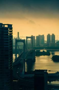 Business district Skyline City Free Photo