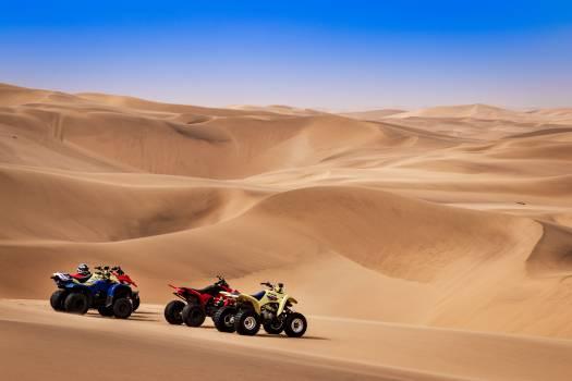 Dune Desert Landscape Free Photo