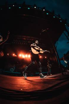 Stage Platform Night Free Photo