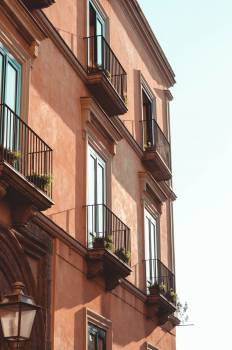 Balcony Architecture Building Free Photo