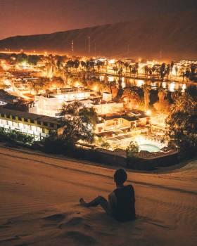 Night City Travel Free Photo