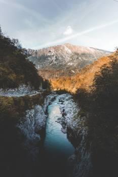 Landscape River Mountain #421596