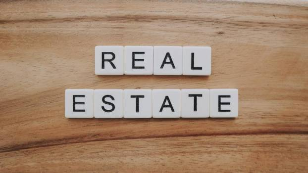 Real Estate In Letters #421679