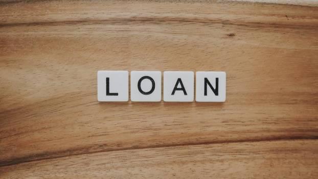Loan In Letter Tiles #421680