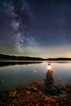 Sun Water Star Free Photo