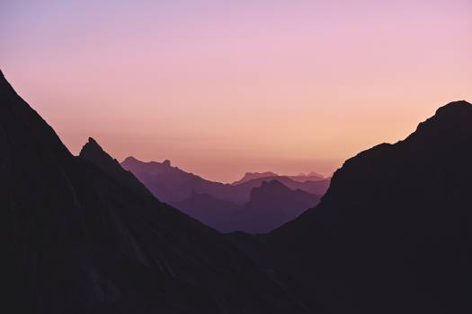 Mountain Range Landscape Free Photo