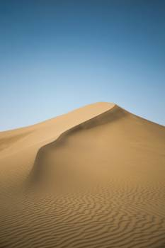 Desert Dune Sand Free Photo