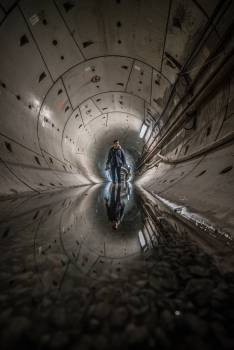 Vault Roof Tunnel Free Photo