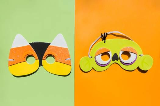 Fun Halloween Face Masks For Kids #421810