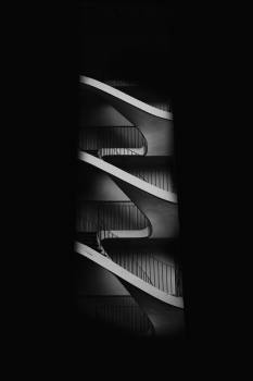 Black And White Staircase #421836