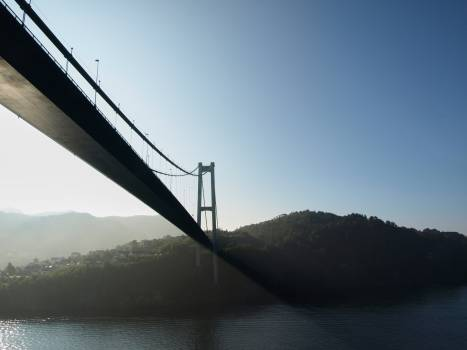 Suspension bridge Bridge Structure Free Photo