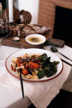 Plate Dinner Meal #421971