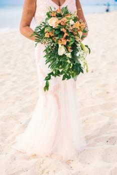 Bouquet Bride Wedding Free Photo